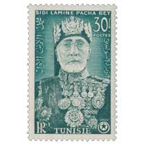 Tunisie - Effigie de Sidi Lamine Pacha Bey