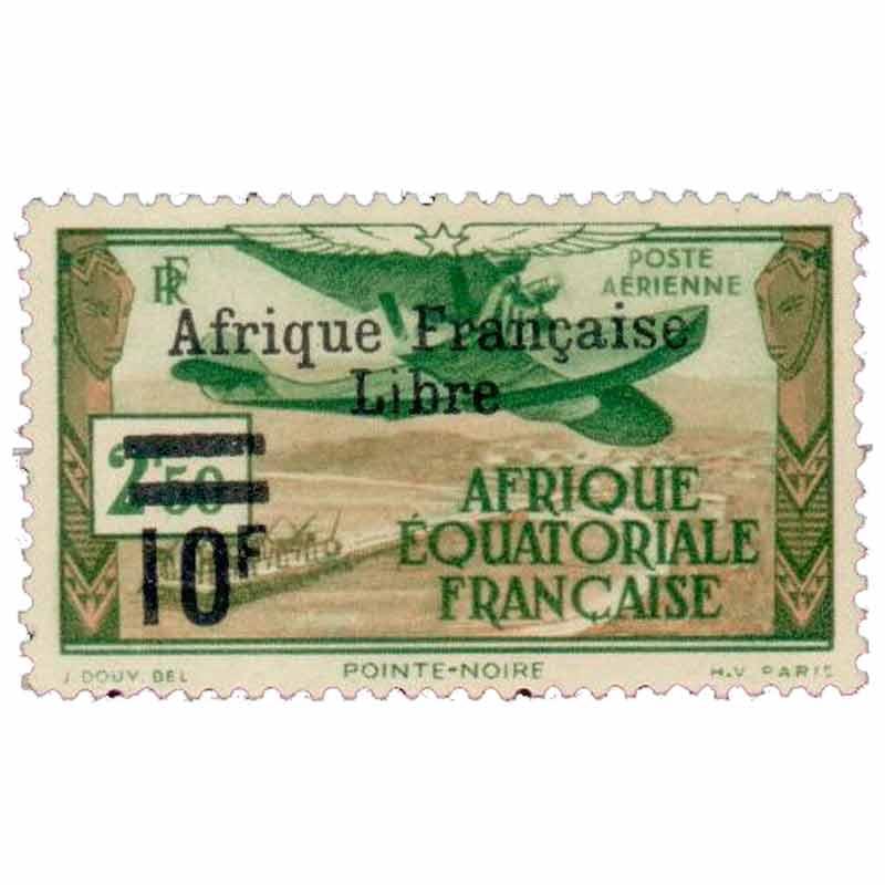 Pointe-Noire Afrique Équatoriale Française