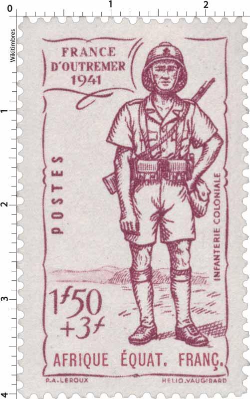 France d'outremer 1941 Afrique Équatoriale Française
