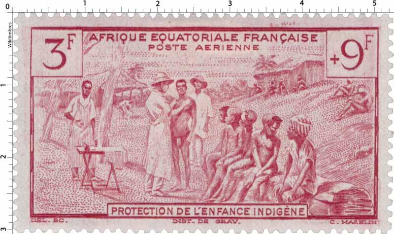 Protection de l'enfance indigène Afrique Équatoriale Française