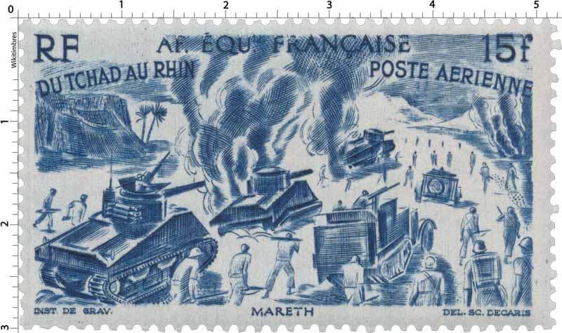 Du Tchad au Rhin Mareth poste aérienne
