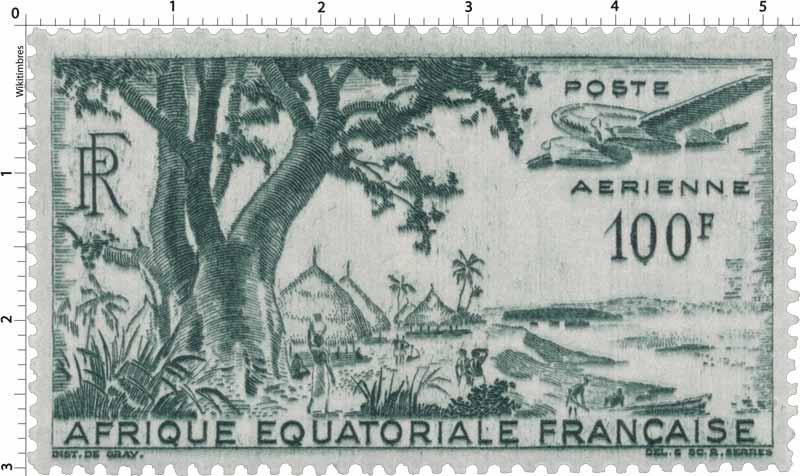 Poste aérienne Afrique Équatoriale Française