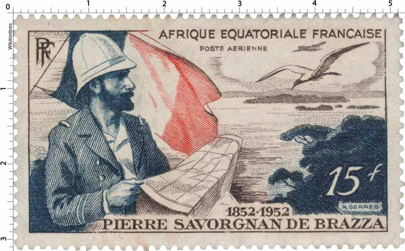 Pierre Savorgnan de Brazza 1852 1953
