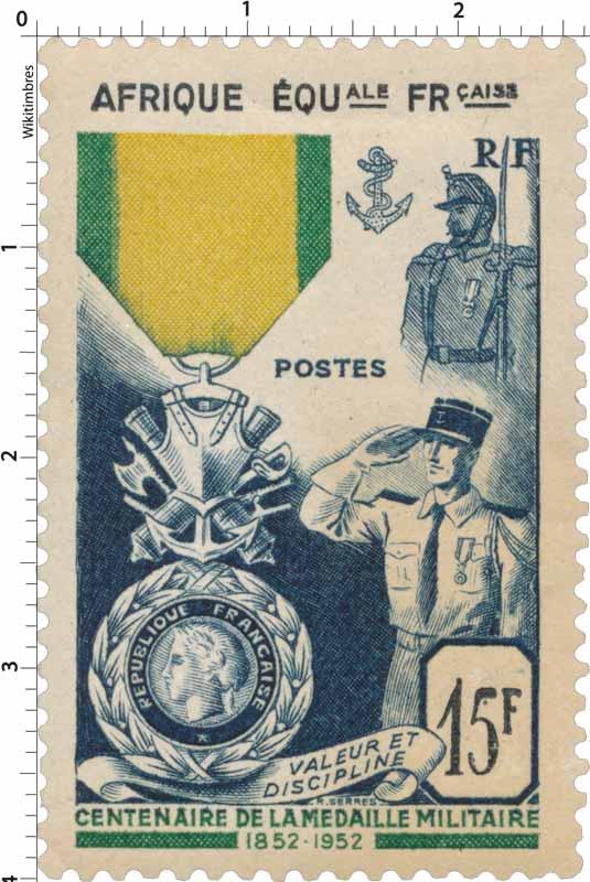 Centenaire de la médaille militaire française valeur et discipline