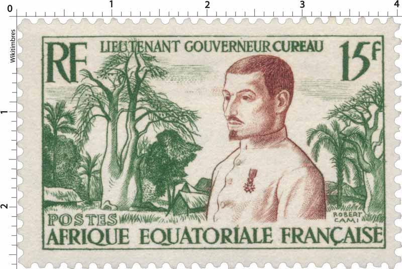 Lieutenant Gouverneur Cureau Équatoriale Française poste aérienne