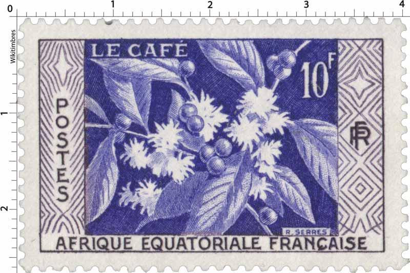 Le café Afrique Équatoriale Française