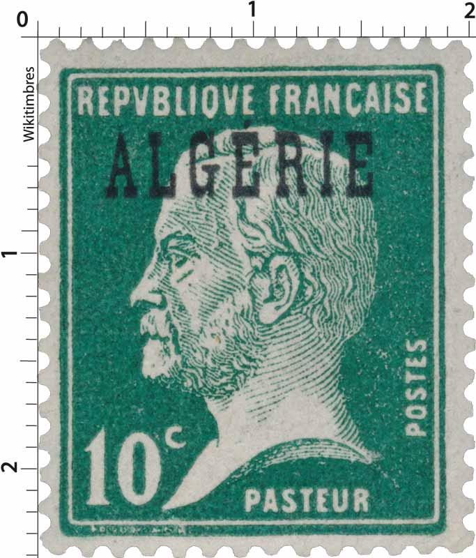 Algérie - Type Pasteur