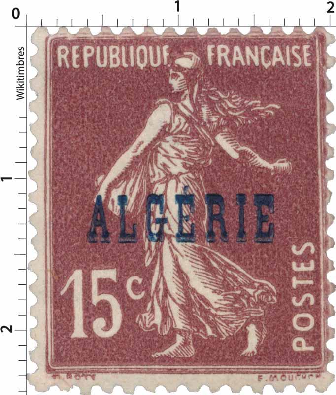 Algérie - Type Semeuse camée
