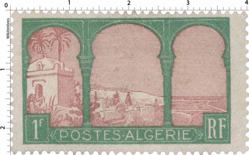 Algérie - Vue prise de Mustapha supérieur