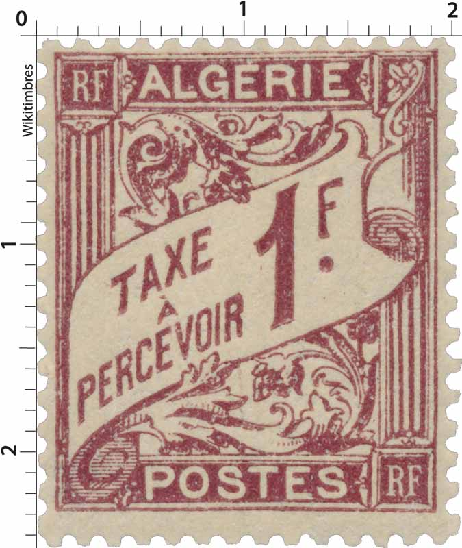 Algérie - Type Duval