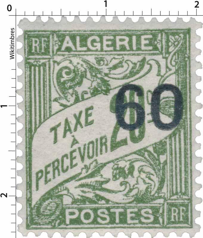 Algérie - Taxe à percevoir