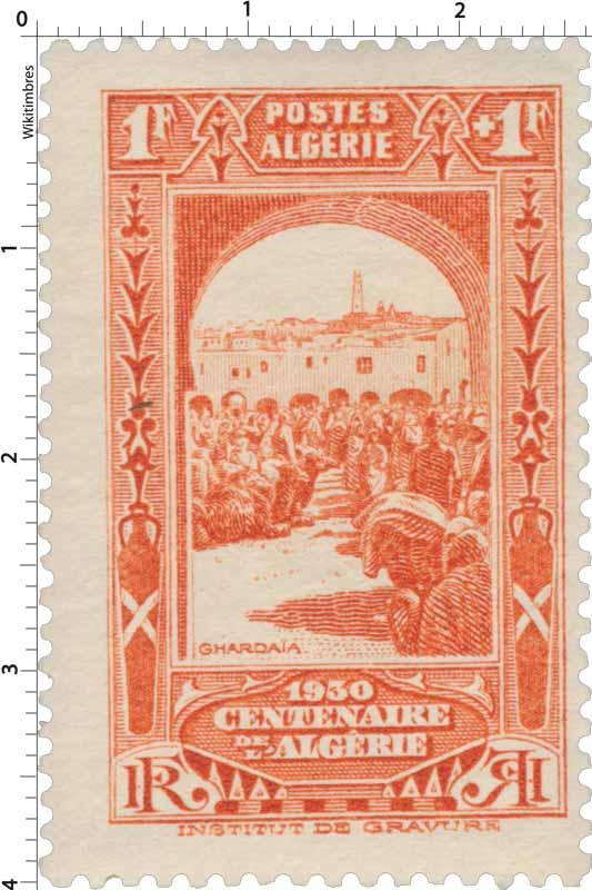 Algérie - Ghardaïa - Centenaire de l'Algérie 1930