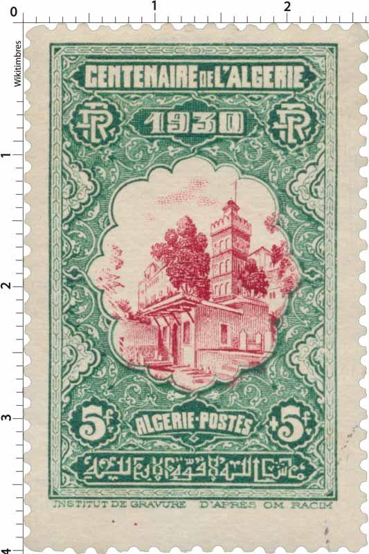 Algérie - Centenaire de l'Algérie 1930