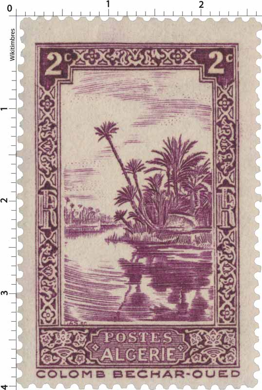 Timbre Algerie Neuf N° 102 ** Oued A Colomb Bechard Algeria Stamps