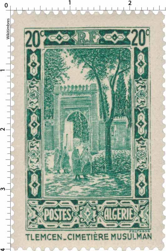 Algérie - Tlemcen - Cimetière musulman