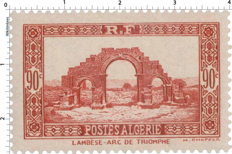 Algérie - Arc de triomphe - Lambèse
