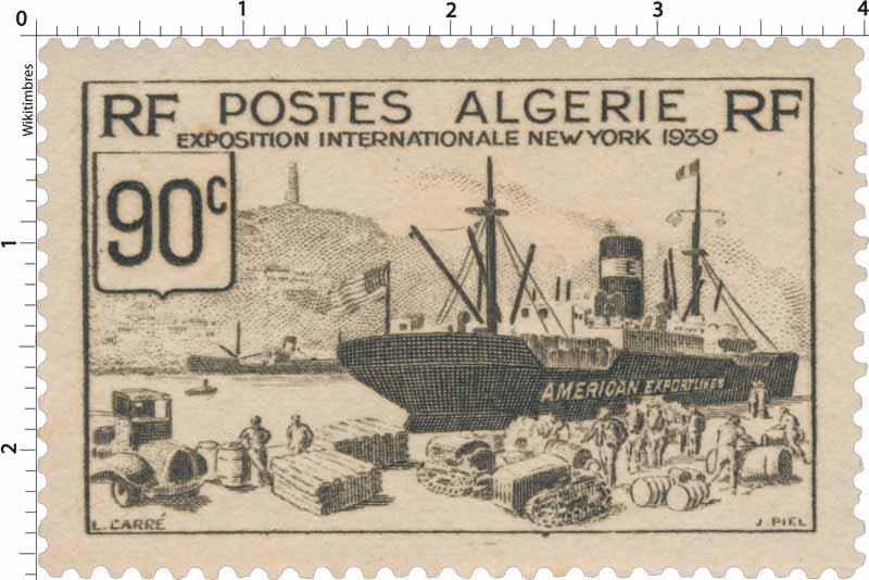 Algérie - Exposition internationale New-York 1939