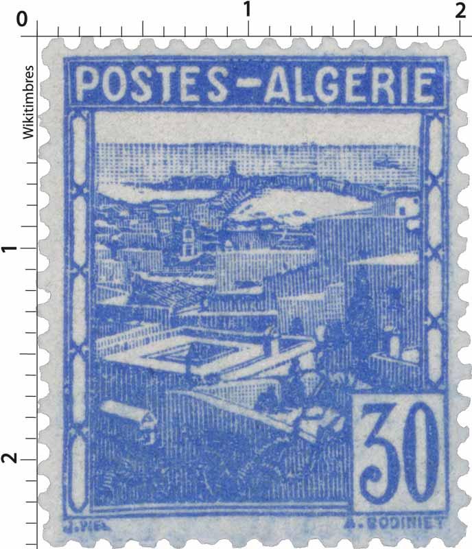 Algérie - Vue d'Alger