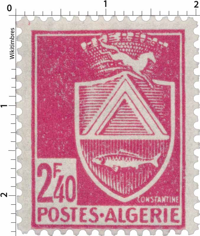 Timbre Algerie Neuf N° 193 ** Constantine Stamps Algeria