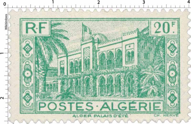 Algérie - Alger Palais d'été