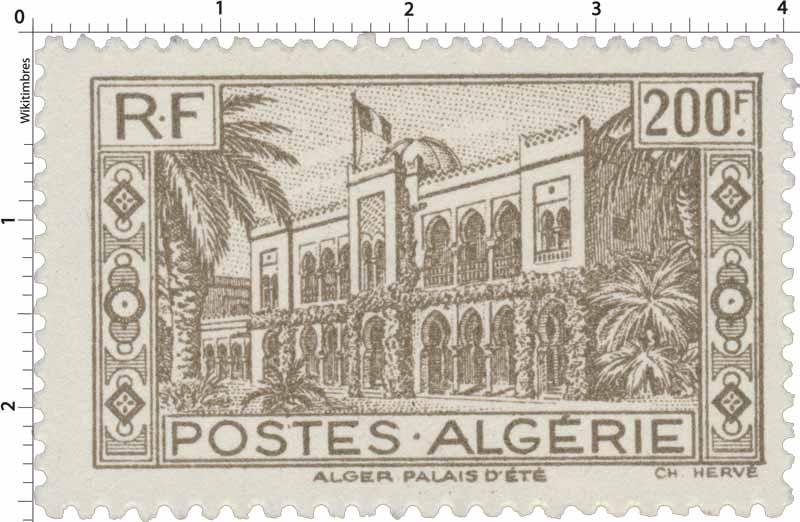 Algérie - Palais d'été à Alger