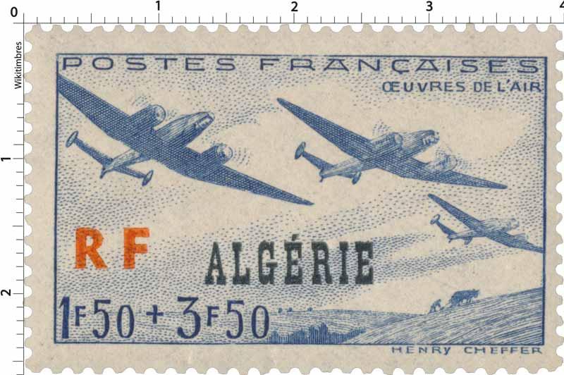 Algérie  Oeuvres de l'air