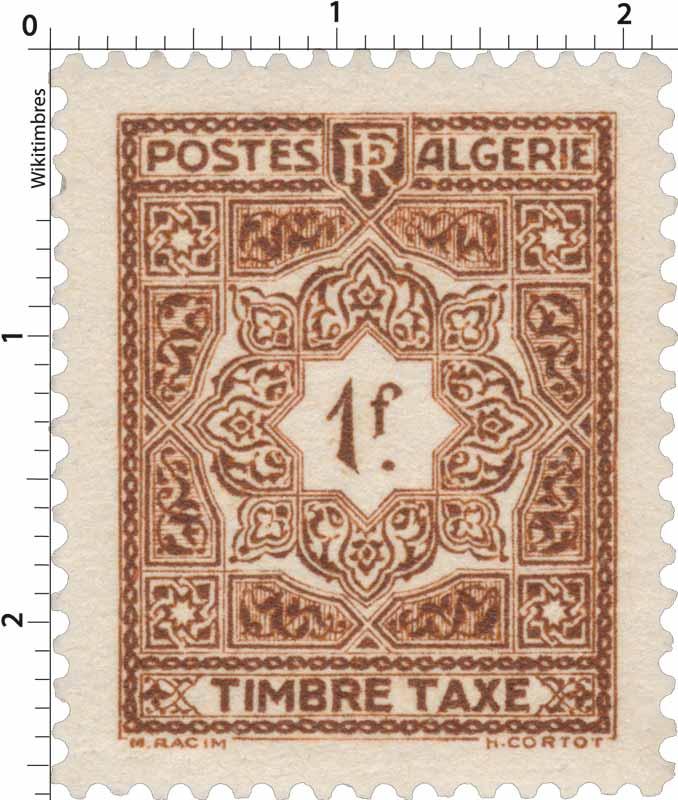 Algérie - type mosaïques