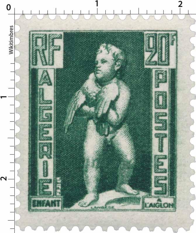 Algérie - Enfant à l'Aiglon
