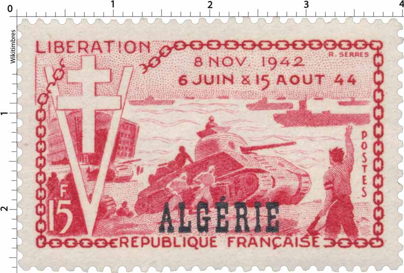 Algérie - 10ème anniversaire de la Libération