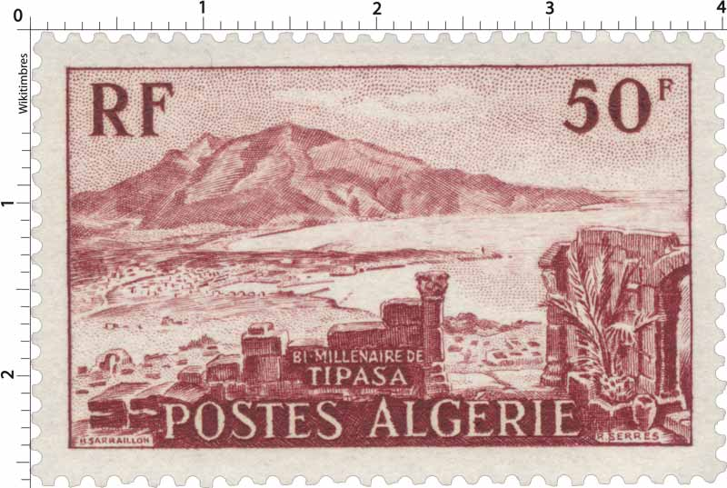 Algérie - Bi-Millénaire de Tipasa