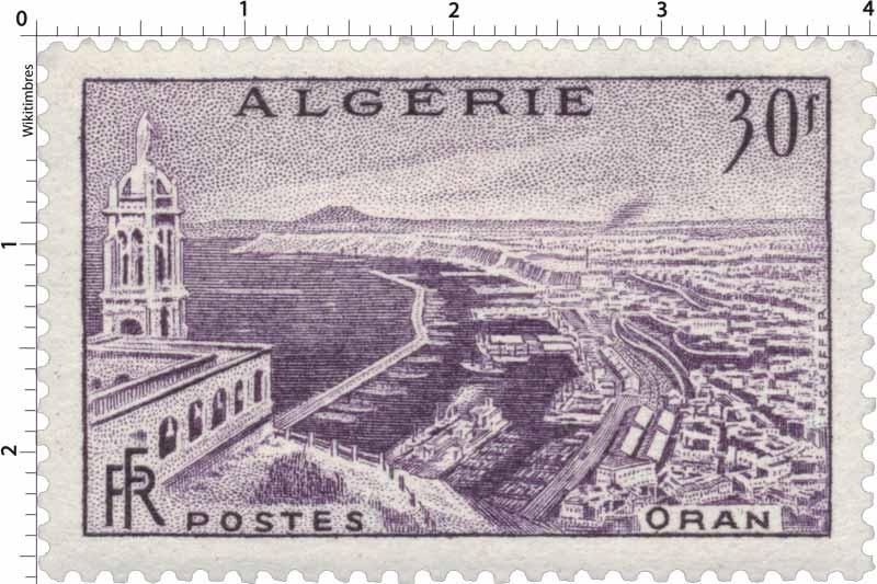 Algérie - Oran et son port