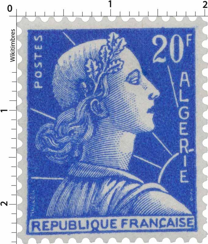 Algérie - Marianne de Muller