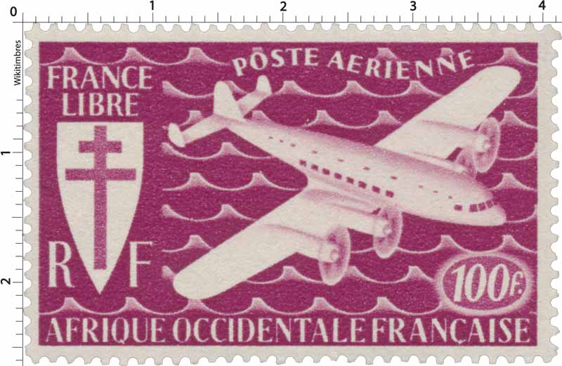 Afrique Occidentale Française - France Libre