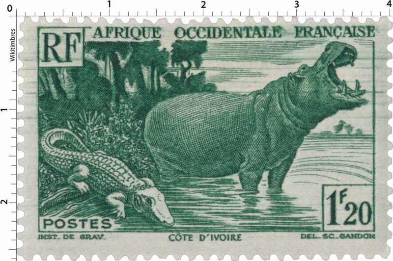 Afrique Occidentale Française - Côte-d'Ivoire