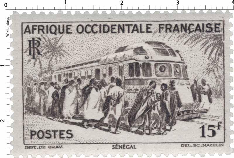 Afrique Occidentale Française  Sénégal