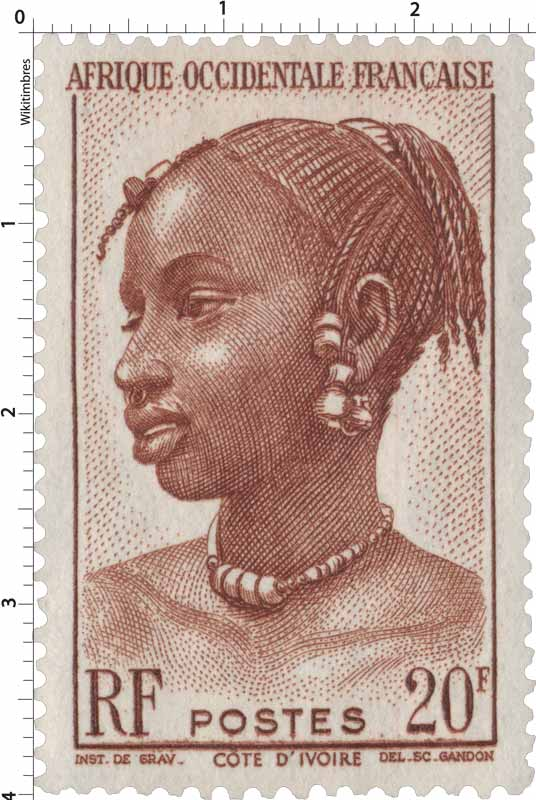 Afrique Occidentale Française Côte-d'Ivoire