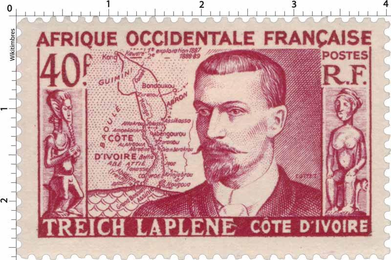 Afrique Occidentale Française - Marcel Treich-Laplène COTE D'IVOIRE