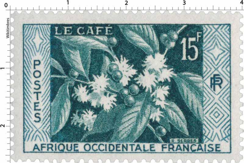 Afrique Occidentale Française - Le café