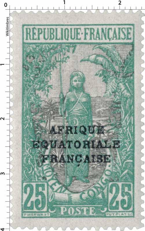 Congo - Femme Bakalois