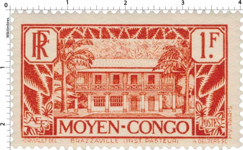 Moyen Congo - Institut Pasteur - Brazzaville