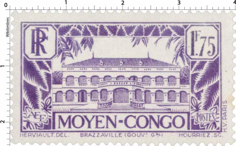 Congo - Palais du gouverneur Brazzaville