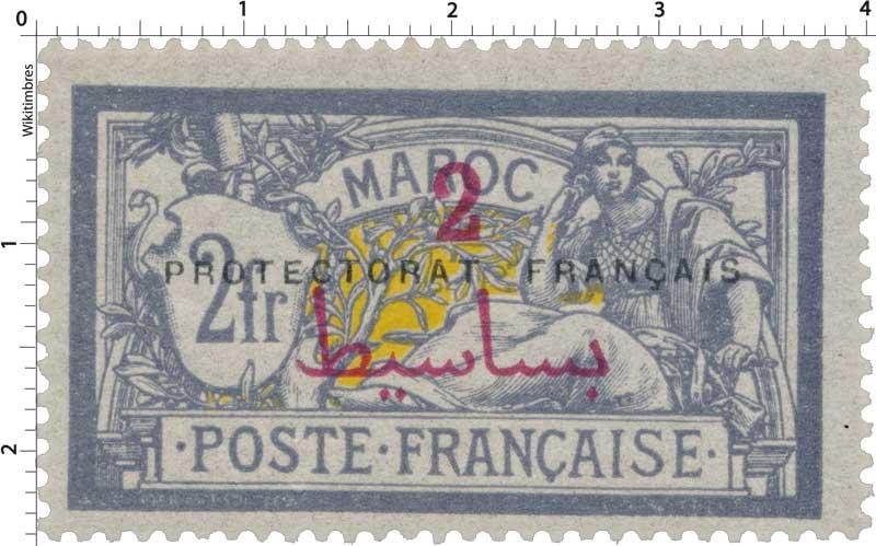 1914 Maroc - Type Merson