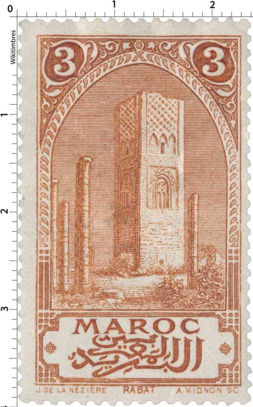 1917 Maroc - Tour Hassan - Rabat