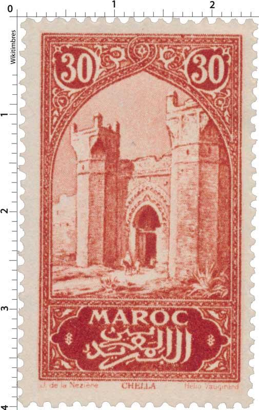 1923 Maroc - Porte de Chella - Rabat