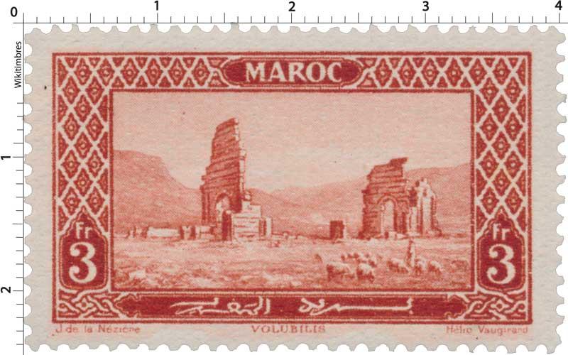 1923 Maroc - Ruines de Volubilis