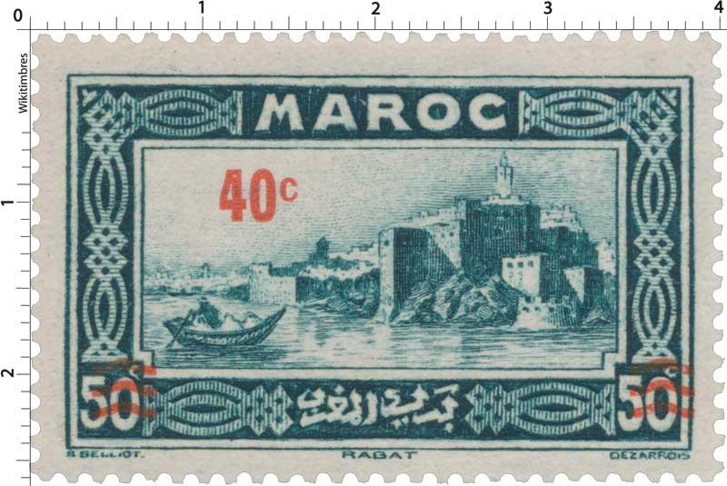 1939 Maroc - Kasbah des Oudaïas - Rabat