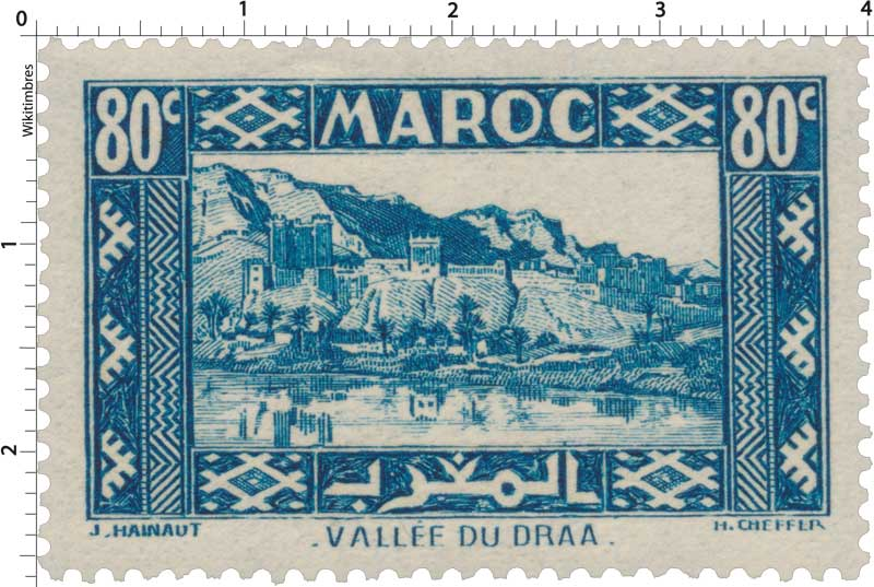 1939 Maroc - Vallée du Draa