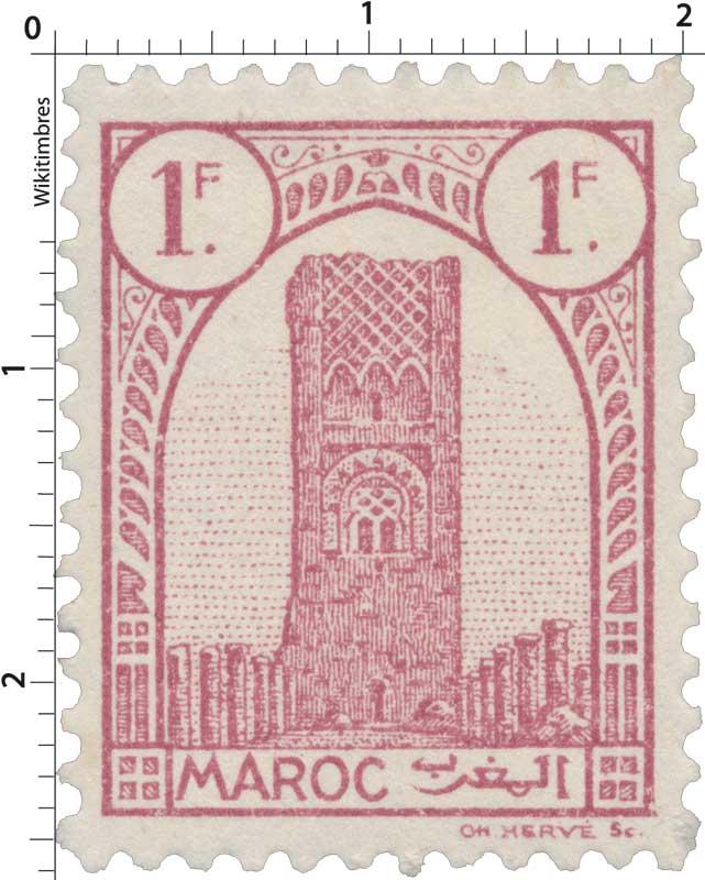 1943 Maroc - Tour Hassan - Rabat