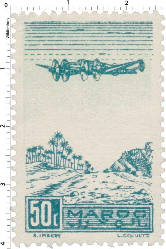 1944 Maroc - Palmeraie