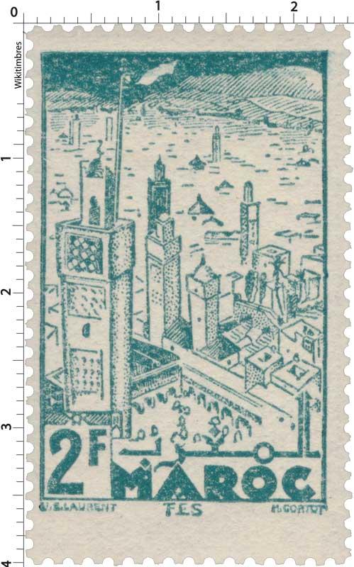 1945 Maroc - Fès